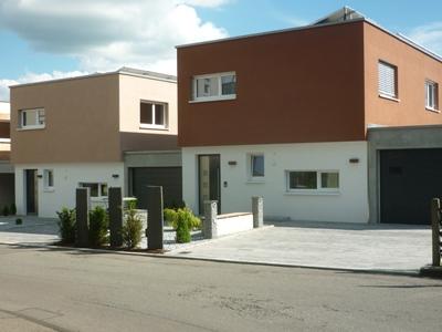 Neubau von vier Hofhäusern inPfullendorf