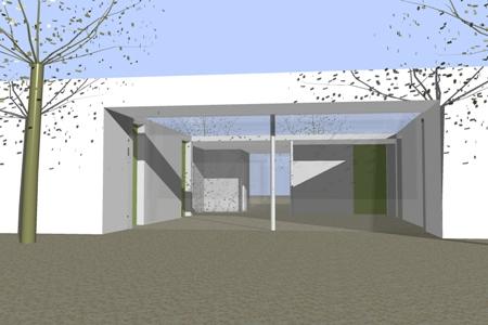 Neubau eines Wohnhauses fürSchwerstbehinderte