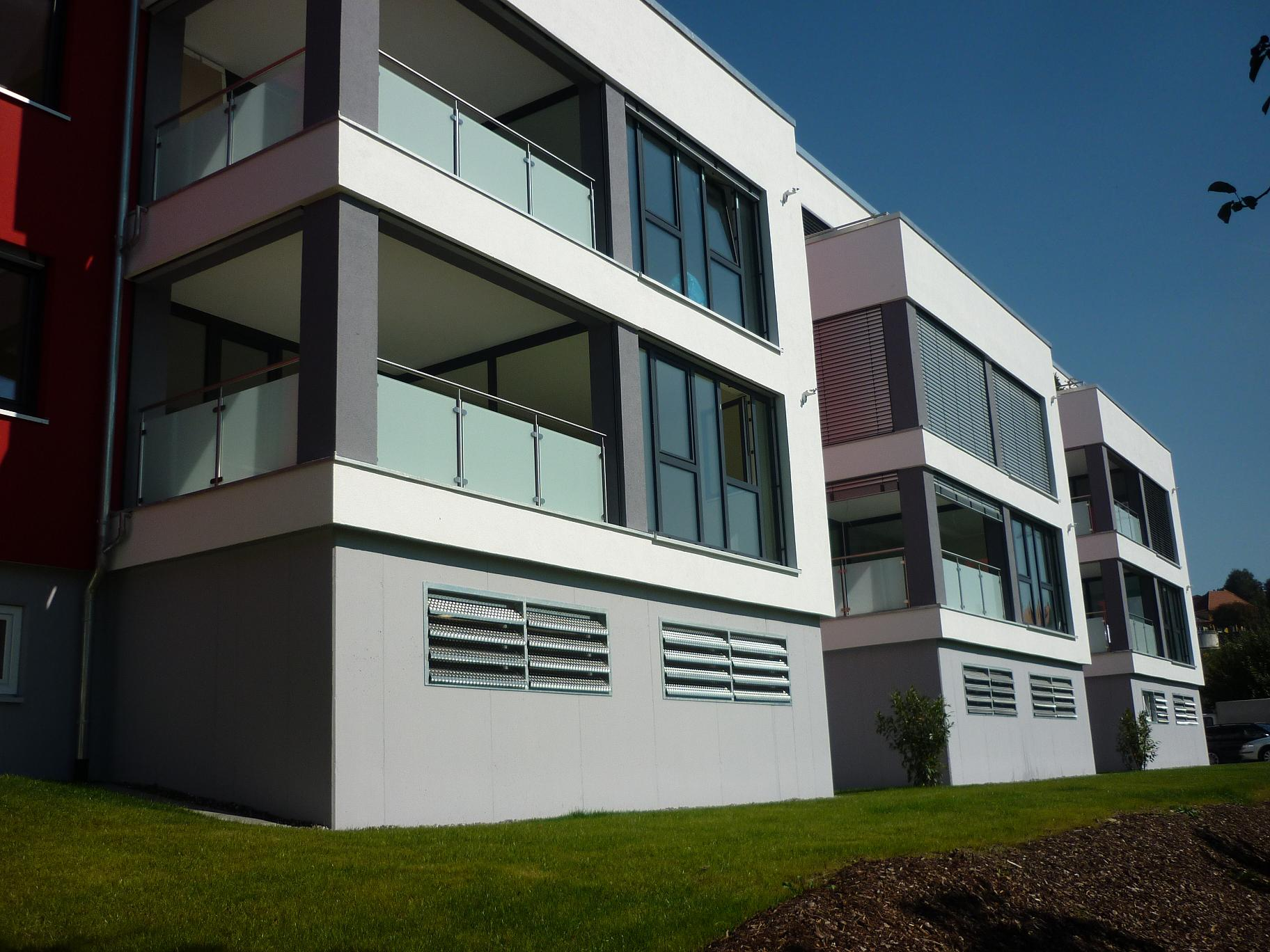 Neubau eines Wohnhauses mit zwölf Wohneinheiten inPfullendorf